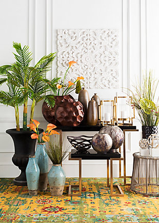 Home Accents  Copper Modern Decorative Bowl, , rollover