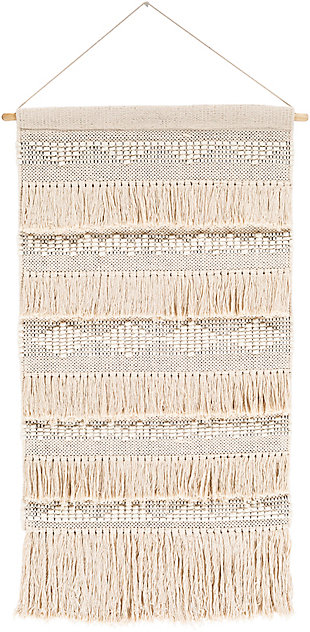 Home Accents  Ivory Global Decorative Wall Hanging, , large
