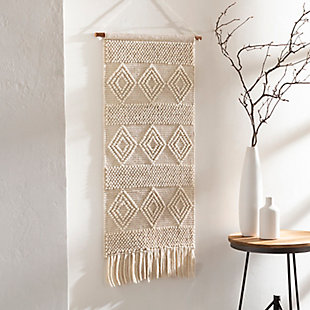 Home Accents  White Modern Decorative Wall Hanging, , rollover