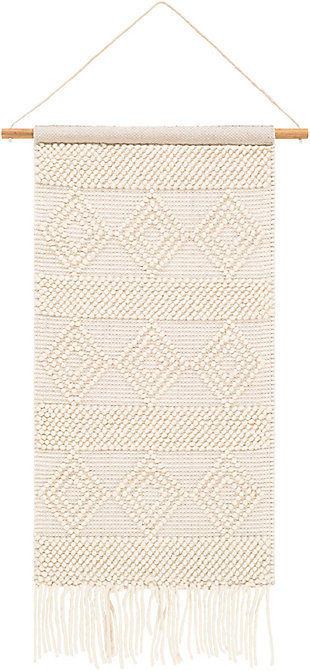 Home Accents  White Modern Decorative Wall Hanging, , large