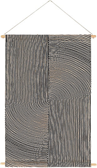 Home Accents  Black Modern Decorative Wall Hanging, , large