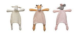 Creative Co-Op Plush Snuggle Toy (Set of 3 Styles), , large