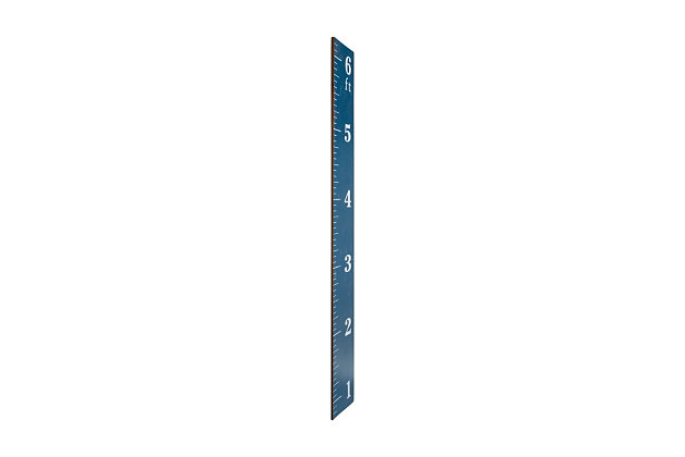 Growth Chart Ruler Wall Decor, , large