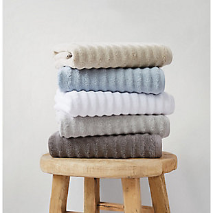 Truly Soft Truly Soft Zero Twist 6 Piece Towel Set, Grey, rollover