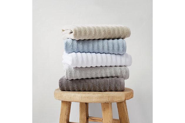 Truly Soft Truly Soft Zero Twist 6 Piece Towel Set, White, large