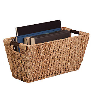 Honey-Can-Do Large Seagrass Basket, , rollover