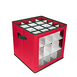 Honey-Can-Do 48-Count Ornament Storage Container, , large