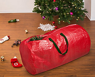 Honey-Can-Do 7-Foot Christmas Tree Storage Bag, , rollover