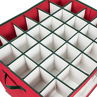 Honey-Can-Do 120-Count Ornament Storage Container, , large