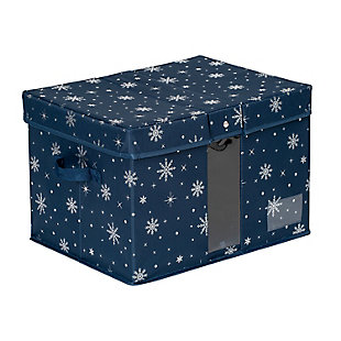 Honey-Can-Do Deluxe Holiday Storage Box, , large