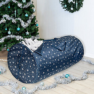Honey-Can-Do Deluxe 7.5' Christmas Tree Storage Bag, , rollover