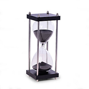 Bey-Berk 30 Minute Hourglass Wood Sand Timer, , large