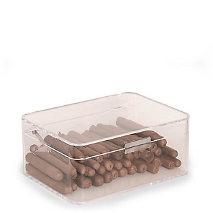 Bey-Berk Acrylic Cigar Humidor, , rollover