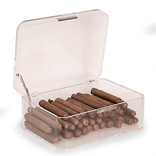 Bey-Berk Acrylic Cigar Humidor, , large