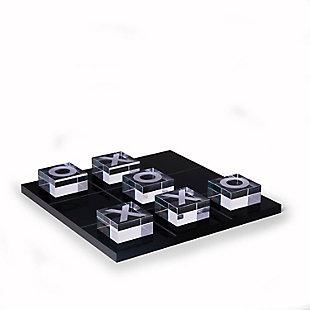 Bey-Berk Acrylic Tic Tac Toe Set, , large