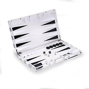 Bey-Berk Acrylic Backgammon Set, , large