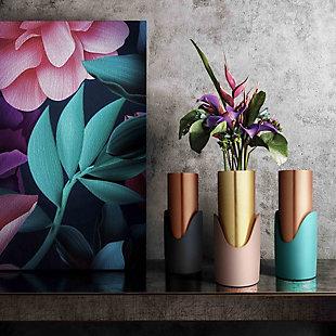 Blue Concrete Vase, , rollover