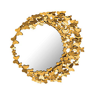Butterly Gold Mirror, , large