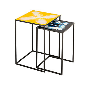 Enamel Side Tables (Set of 2), , large