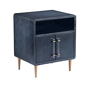 Marco Lacquer Indigo Side Table, , large