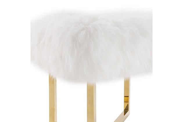 Nomo Sheepskin Bench, , large