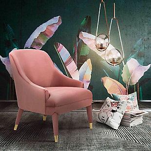 Orchid Velvet Chair, , rollover