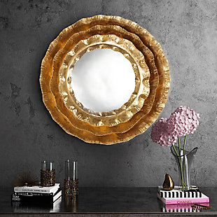 Petal Gold Mirror, , rollover