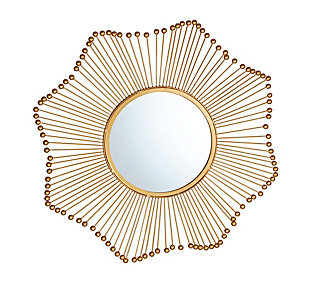 Ray Gold Mirror, , large