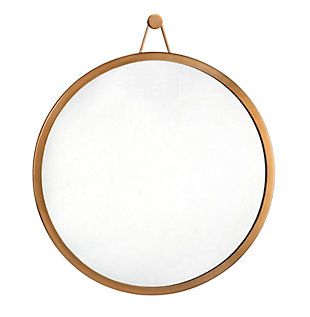 Rowan  Brass Mirror, , large
