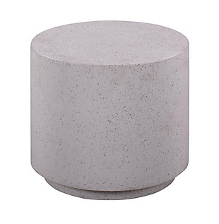 Terrazzo  Light Speckled Side Table, , large