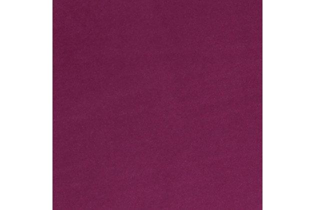 Ziva Plum Storage Bench, Purple, large