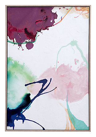"Zuo Abstract Party 24"" x 36"" Multicolor Canvas, , large"