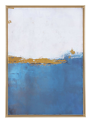 "Zuo Azure Blue 27"" x 38"" Canvas, , large"