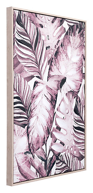 "Zuo Tropical Palm 24"" x 36"" Sepia Canvas, , rollover"