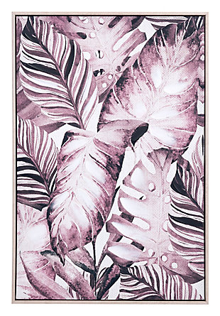 "Zuo Tropical Palm 24"" x 36"" Sepia Canvas, , large"