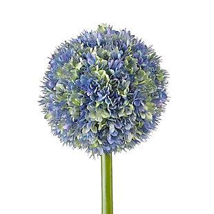 "Nearly Natural  30"" Ball Flower Artificial Flower Stem (Set of 3), , rollover"