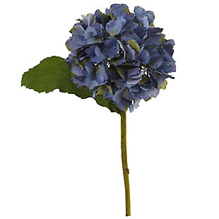 """Nearly Natural  12"""" Hydrangea Artificial Flower (Set of 12), , large"""