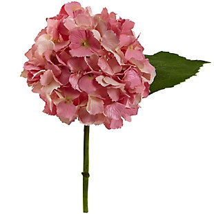 "Nearly Natural  12"" Hydrangea Artificial Flower (Set of 12), , large"