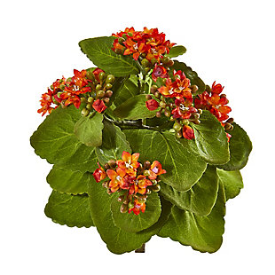 """Nearly Natural  8"""" Kalanchoe Artificial Bush Flower (Set of 6), , large"""