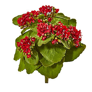 "Nearly Natural  8"" Kalanchoe Artificial Bush Flower (Set of 6), , large"