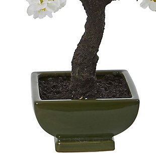 Nearly Natural  Cherry Blossom Bonsai Artificial Tree, , rollover