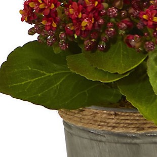 Nearly Natural  Kalanchoe Artificial Arrangements (Set of 3), , rollover