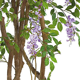 Nearly Natural  5' Wisteria Silk Tree, , rollover