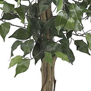 Nearly Natural  3' Ficus Silk Tree, , rollover
