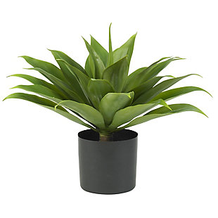 Nearly Natural  Agave Silk Plant, , large