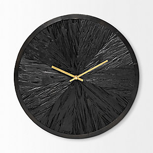 """Mercana  16.5"""" Round Large Modern Wall Clock, , rollover"""