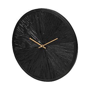 "Mercana  16.5"" Round Large Modern Wall Clock, , large"