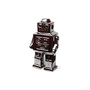 "Mercana  7.5""H Silver Polished Robot, , large"
