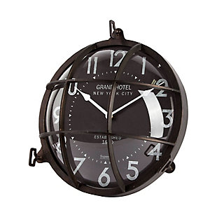 """Mercana  15"""" Round Large Industrial Wall Clock, , large"""