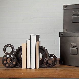 Mercana  Industrial Gear Bookend, , rollover
